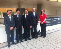 Introducing Japanese visitors to Cambridge UK to set up their European R&D Centre