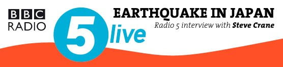 Japan Earthquake BBC Radio 5 Live Interview